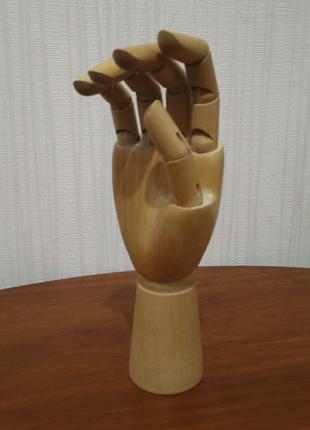 Деревянная рука манекен кисть
