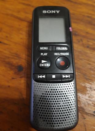 Диктофон Sony sony ic recorder icd px 240 из Германии.