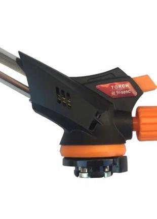 Газовая горелка (резак) портативная Torch WS-509C с пьезоподжигом