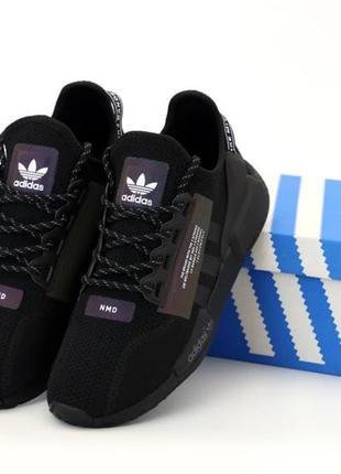 Adidas nmd r1 v2 black🆕шикарные кроссовки адидас 🆕купить налож...