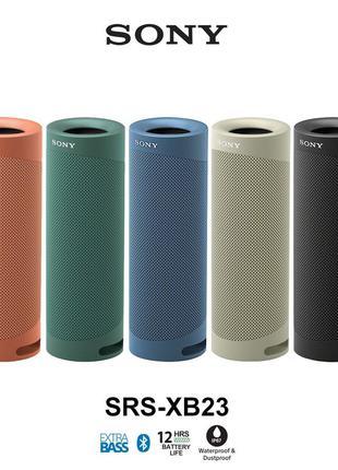 Sony SRS-XB23 портативная акустика из США