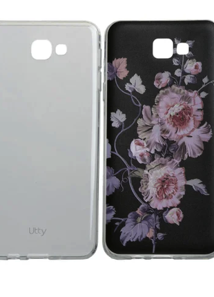 Чехол 2 штуки Utty Thin+3DPat Clear+z9674 для Samsung J5 Prime G