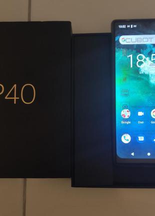 """Смартфон Cubot P40 Green NFC 6.2"""" 4/128Gb 4200mAh Android 10 NFC"""