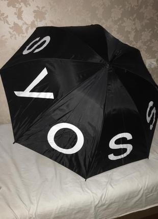 Зонтик зонт трость двухслойный