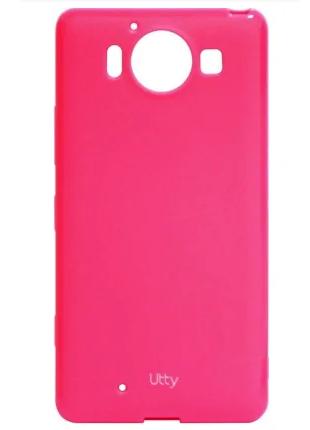 Чехол Utty U-case TPU Pink для Microsoft Lumia 950