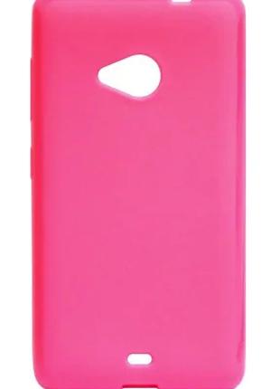 Чехол Utty U-case TPU Pink для Microsoft Lumia 535