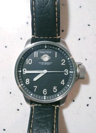 Nautica (Japan ) WR100m Часы мужские кварцевые