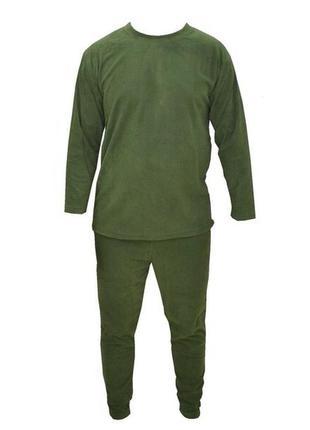 Комплект термо белья для холодной погоды зелёный хаки новый ра...