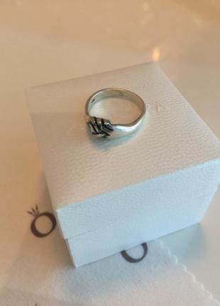 Кольцо пандора ручки серебро проба 925