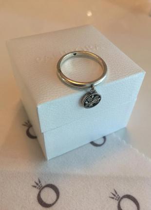 Кольцо пандора семейное дерево серебро проба 925