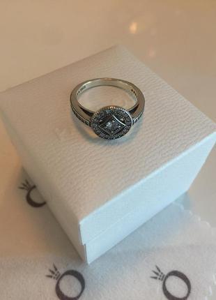 Кольцо винтажный стиль пандора серебро проба 925