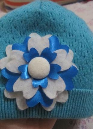 Шапочка шапка 1-3 года идеальное состояние
