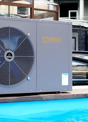 Тепловой насос для подогрева воды бассейна ТМ Brilix