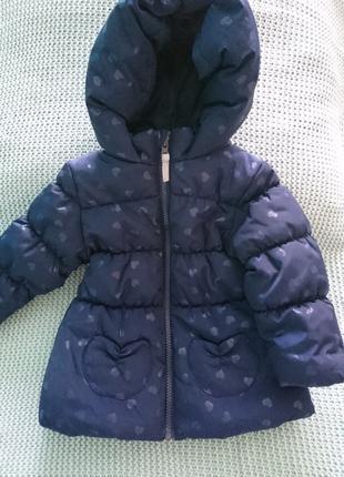 Демисезонная куртка topolino. 74 размер.
