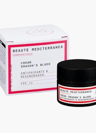 Антивозрастной регенерирующий крем для лица «кровь дракона», s...