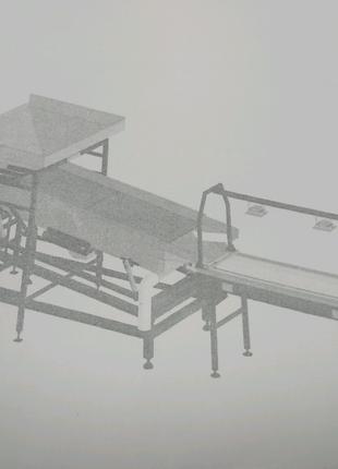 Калибровочная линия предназначена для инспекции, калибровки кофе