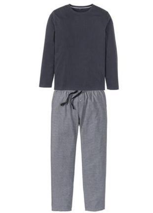 Мужская пижама домашний костюм livergy s