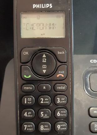 Радиотелефон с автоответчиком Philips CD 155