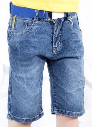 Джинсовые шорты бриджи для мальчика венгрия