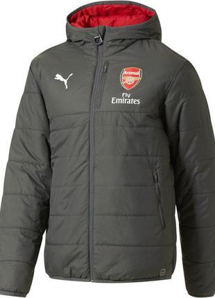 Мужская двухсторонняя демисезонная зимняя куртка puma arsenal ...