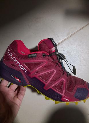 Трекинговые кроссовки Salomon Speedcross GTX, 38 размер