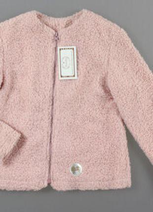 Куртка-овечка для девочки турция