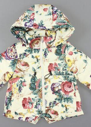Куртка для девочки турция