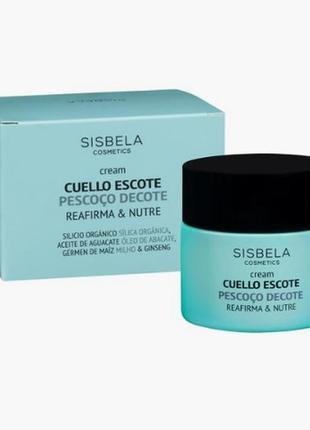 Крем от sisbela cosmetics для шеи и зоны декольте, 50 мл.
