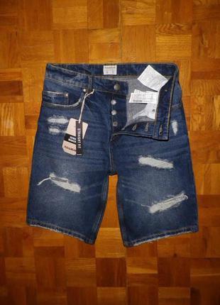 Шорты джинсовые PULL & BEAR (Cambodia) W30