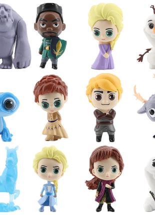 Набор игрушек Холодное сердце Frozen (12 шт), новые
