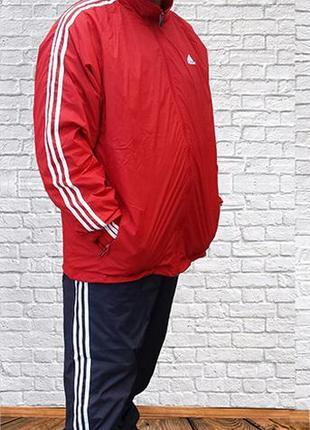 Мужской спортивный костюм ADIDAS большого размера
