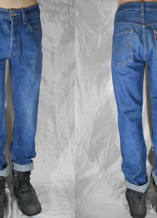Винтажные 90-х мужские джинсы Levi's 501 XX прямые классические