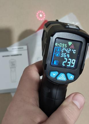 RICHMETERS 800PRO цифровой инфракрасный термометр пирометр