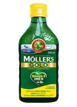 Mollers gold. Для взрослых. Омега-3 Моллерс