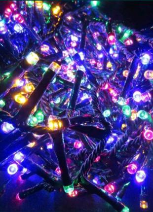 Светодиодная LED гирлянда для ёлки 9м.