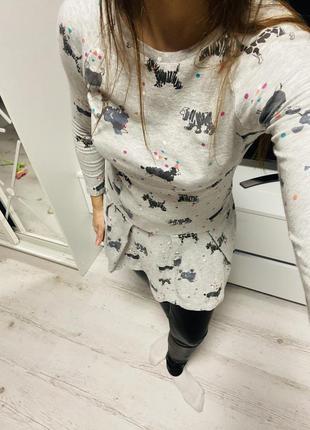 Платье собачки 🐶🐶🐶