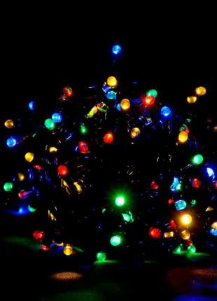 Светодиодная LED гирлянда Линза на ёлку 9м.