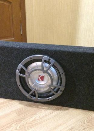 Сабвуфер Kicker CVT 124 форд фокус 1 2 3 закрытый ящик короб 50 л