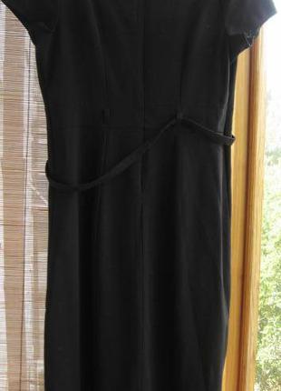 Платье чёрное С 10 и М 12 р., деловой стиль, торг
