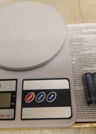 Кухонные весы SF-400 7кг.