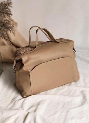 Женская сумка саквояж