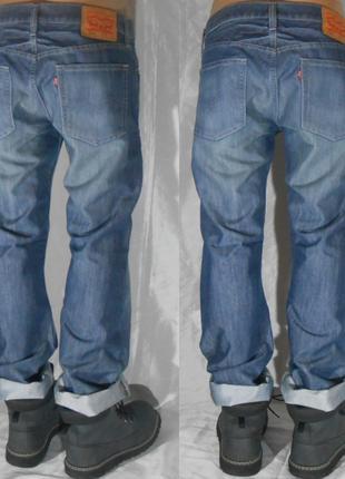 33х32 levis 514 джинсы классические прямые класичні прямі джинси