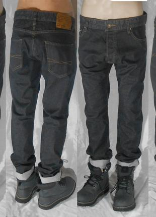 36 ZARA Slim fit приталені завужені чоловічі джинси джинсы
