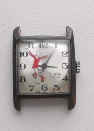 Часы Slava механические