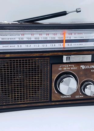 Радиоприемник Golon RX-382/381 аккумуляторный USB/SD плеер фонарь