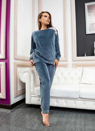 Комплект женский effetto 03117 италия домашняя одежда пижама