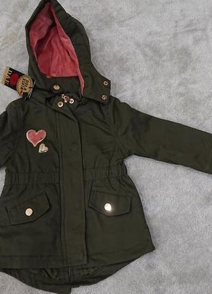 Куртка для девочек сезон осень-весна очень хорошего качества
