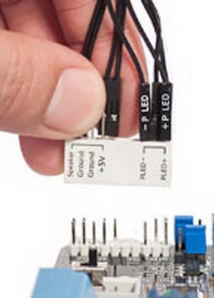 Удлинитель контактов фронт панели материнской ASUS Q-CONNECTOR