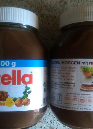 Шоколадно ореховая паста Nutella, 1 кг, Германия