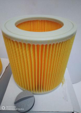 Фильтр патронный моющийся для пылесоса Karcher (Керхер) wd2, wd3,
